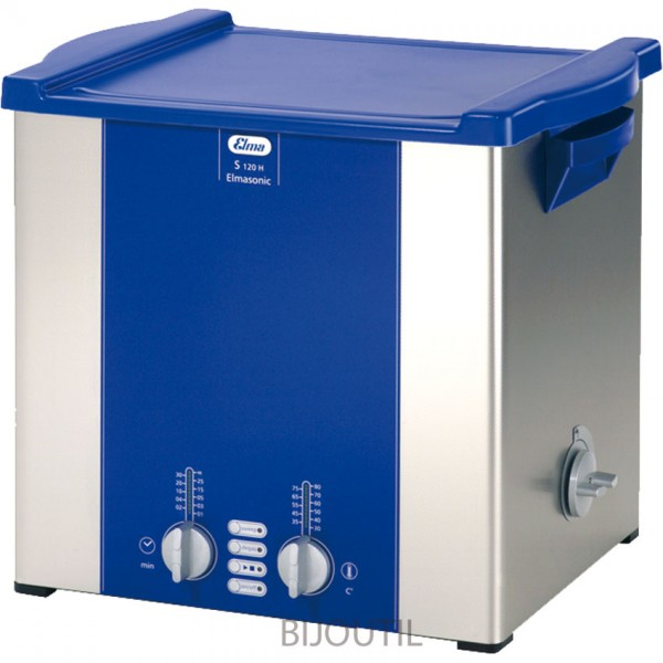 Ultrasonic cleanerS 120 H 12,75l with outlet and cover