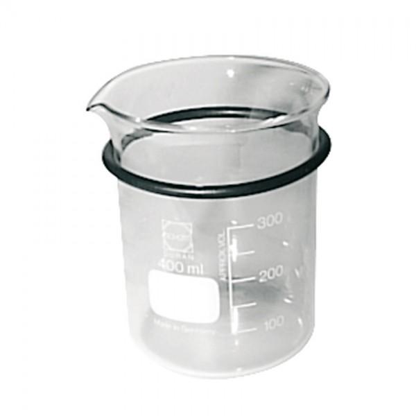 Becherglas 400 ml mit Ring