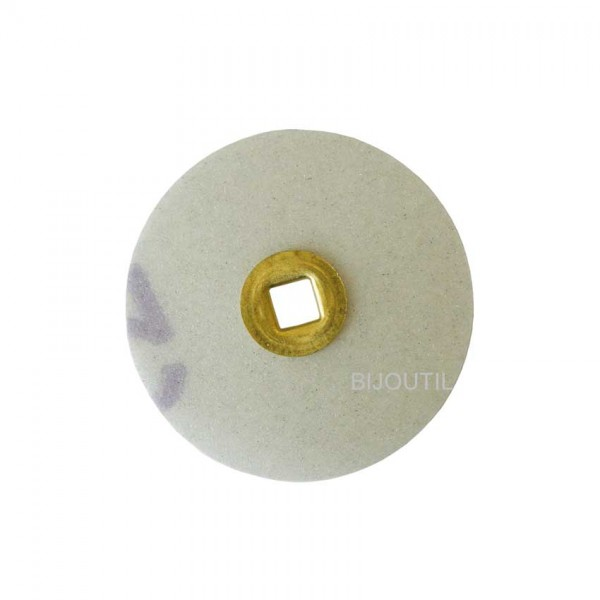 Moore disc, coarse, sand Ø 16mm, Snap-On
