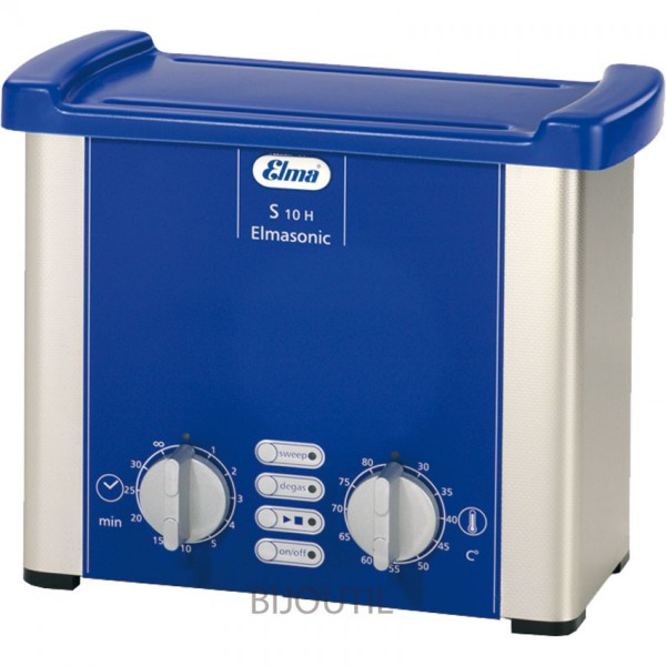 Ultrasonic cleaner S10 / 0.8 liter with heater and lid