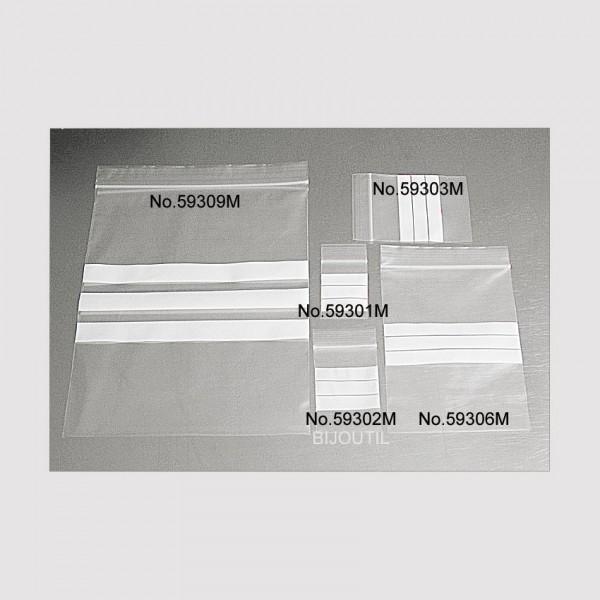 100 Druckverschlußbeutel 40x60 Schnellverschlußbeutel Wiederverschließbar NEU