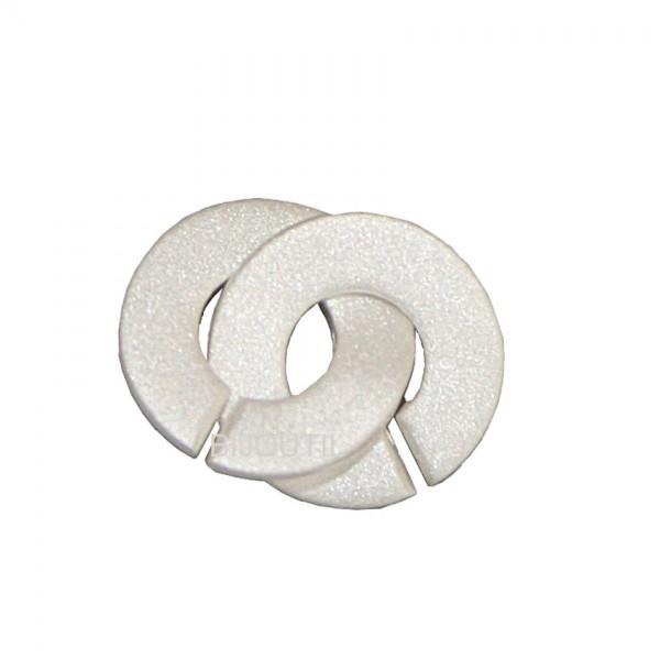 Schmuckschliesse Silber 925, 11mm