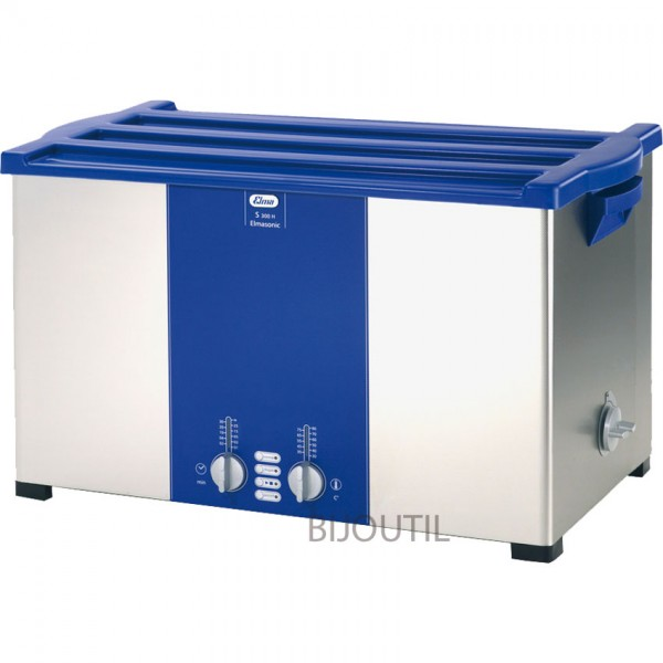 Ultrasonic cleaner S 300 H 28 l with outlet and cover