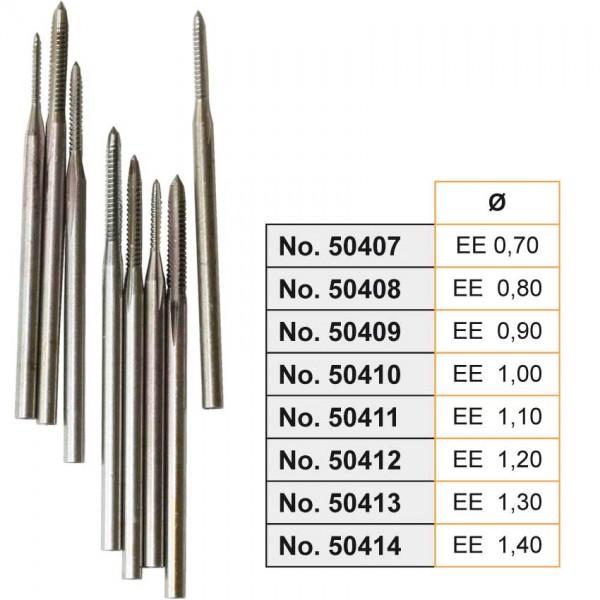 Gewindebohrer `EE` 0,9 mm