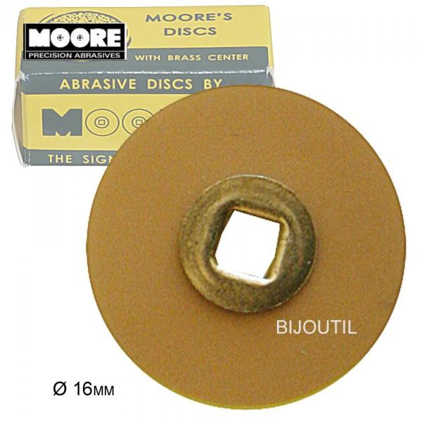 Moore-Flex polishing disc, ultra-fine Ø 16mm, Snap-On