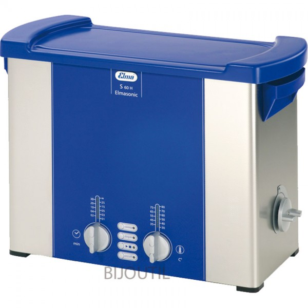 Ultrasonic cleaner S 60 H 5.75 l with cover