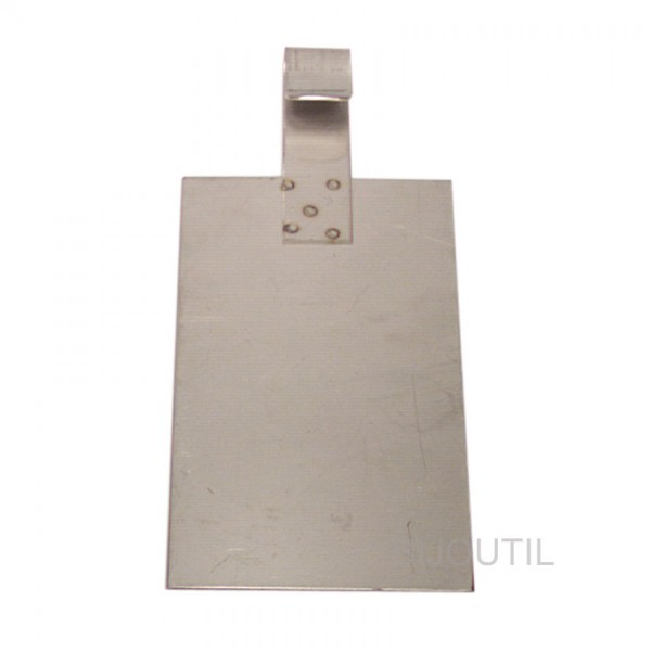 Anodes in stainless steel
