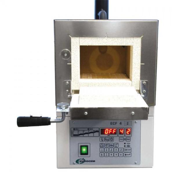 Ausbrennofen 42 AS, 2450W 230V / 50Hz, max. 1100°C