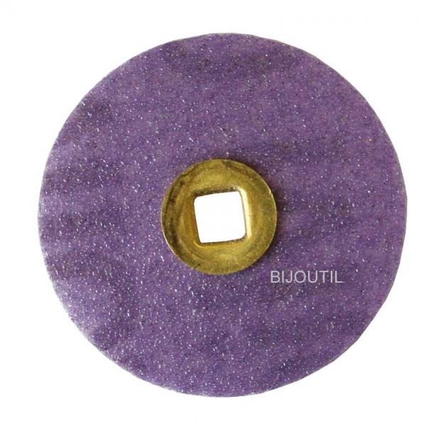 Moore disc, medium, sand Ø 22mm, Snap-On