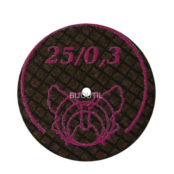 Separating disc Ø 25 x 0.3 mm diamond coated
