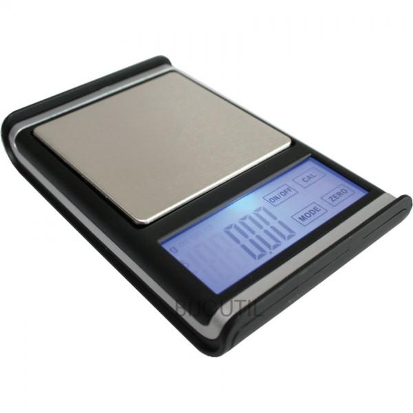 LIQ Taschenwaage 0-300 Gramm - 300g / x 0.01g, g / ct / oz / gn
