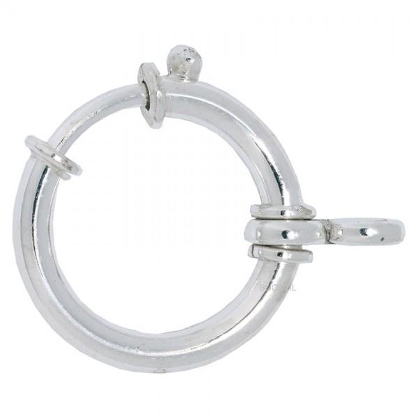 Federring 19 mm 2 Bund Silber