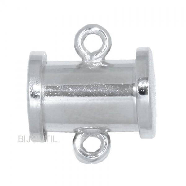 LIQ. Fermoir magnétique argent rhodié 92