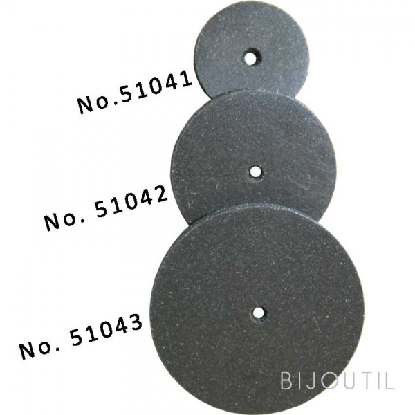 Rubber wheels Universal 17x2.5 mm
