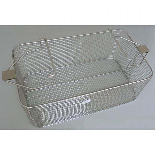 LIQ. Stainless steel basket 49x29x18