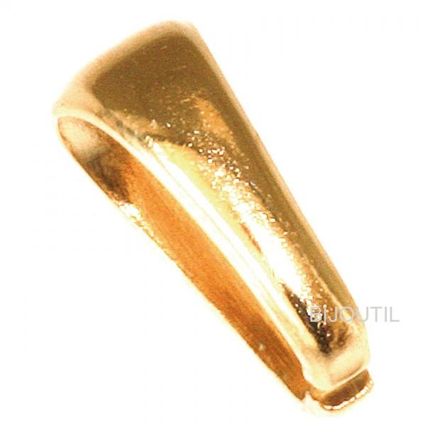 LIQ. Locket bails silver goldplated