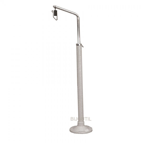 Table-tripod with flange
