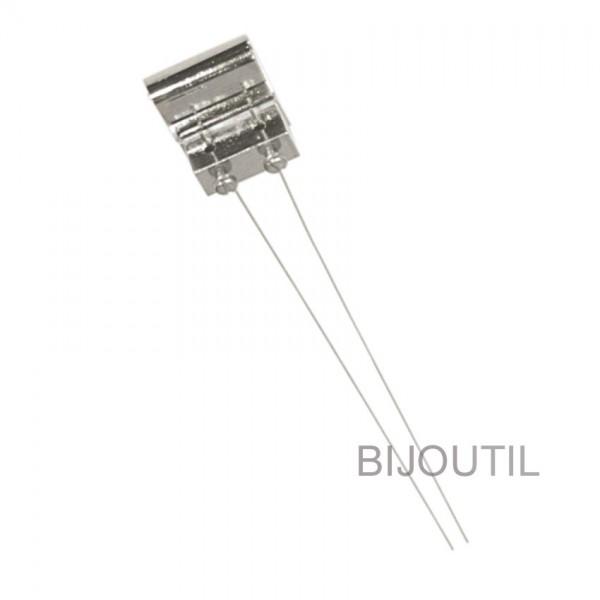 Suspension w/two copper wires