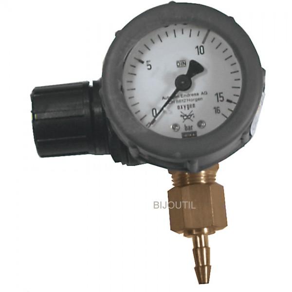 Détendeur oxygène 1 manomètre