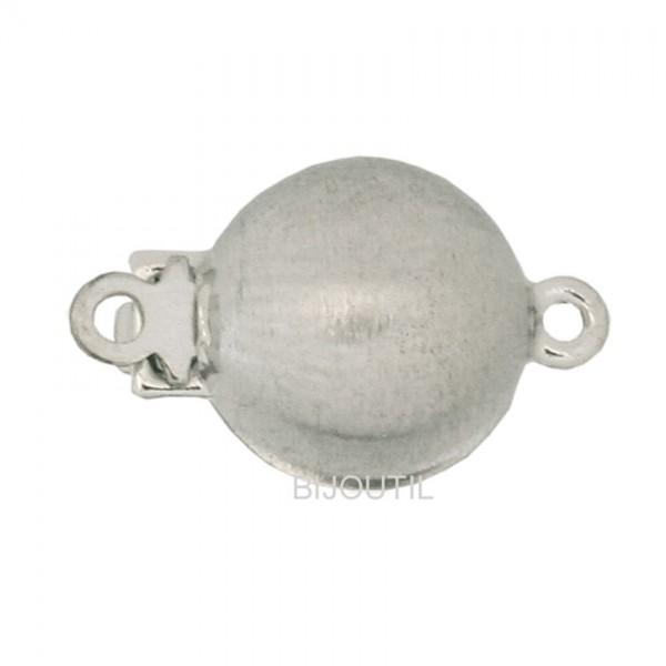 Kugelschl.sat.Silber rhod.10mm