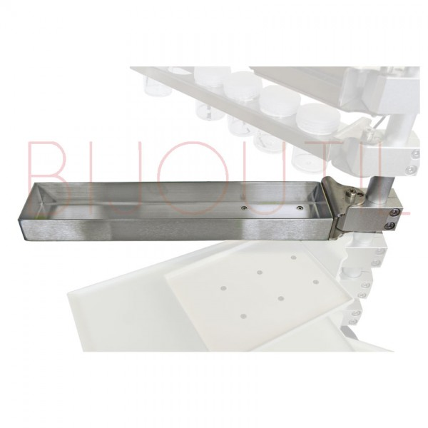 Bin tray arm for rod 13400 + 13400L L x W x H 30 x 6 x 3cm