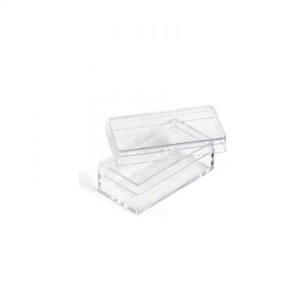 Kleinteile Dosen transparent 44 x 24 x 19mm