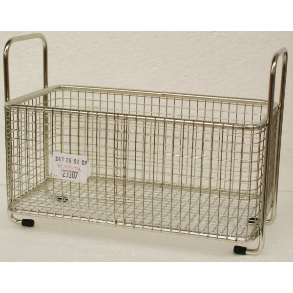 Stainless steel basket 20x12x7