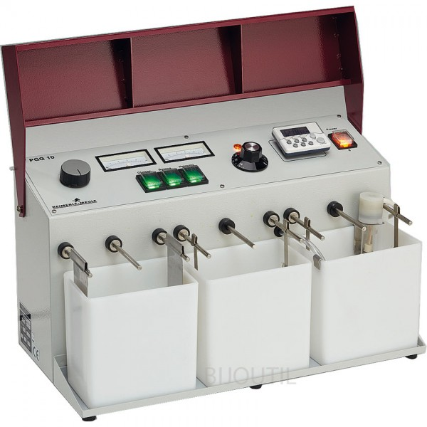 Electroplater small-size 1,5 L 240V/ 50 Hz, output 10V DC / 10A