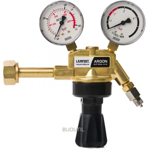 Pressure gauges for argon