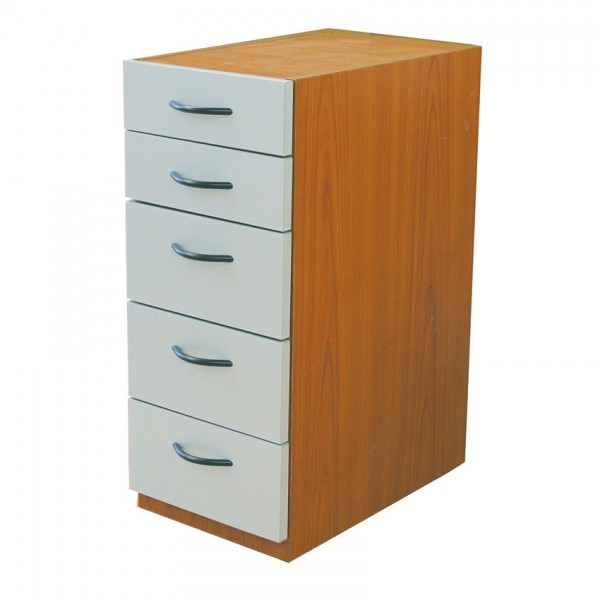 Drawerblock w. 5 drawers 70x30x50 cm