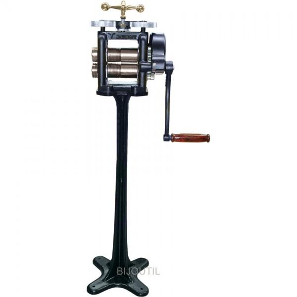 Draht-Blechwalze Retro-Look 60x120 mit Ständer