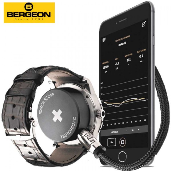 LIQ. Watch Analyzer, SCOPE appareil de contrôle p.montre mécanique