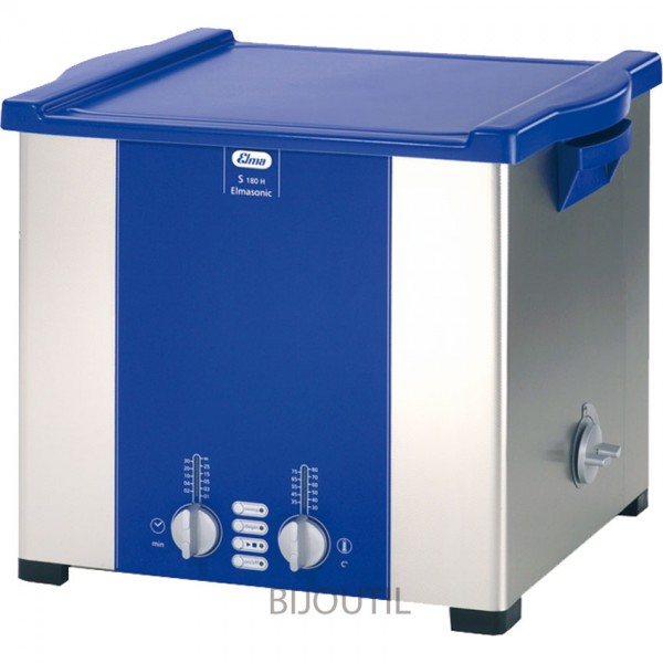 Ultrasonic cleaner S 180 H 18 l with outlet und cover