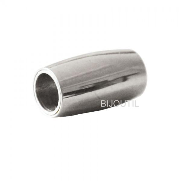 LIQ. Magnetschliesse AG925, oval 14mm, innen Ø 5mm ~Solange Vorrat