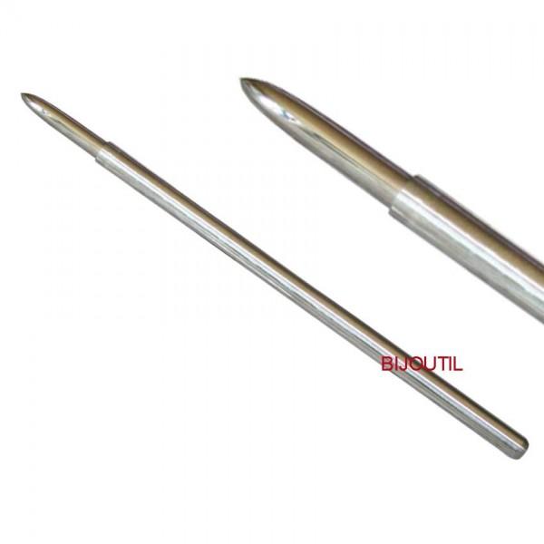 Polierstahl HM, 5.0mm, spitz