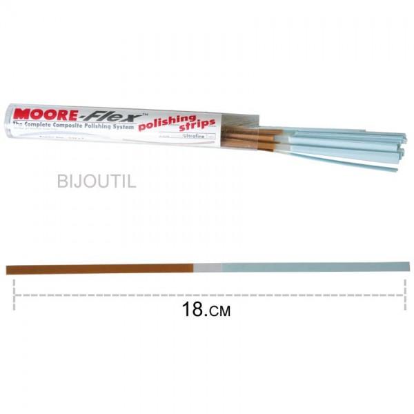 Moore finishing strips, fein / ultrafine 4 x 180mm, (100pcs. / Box)