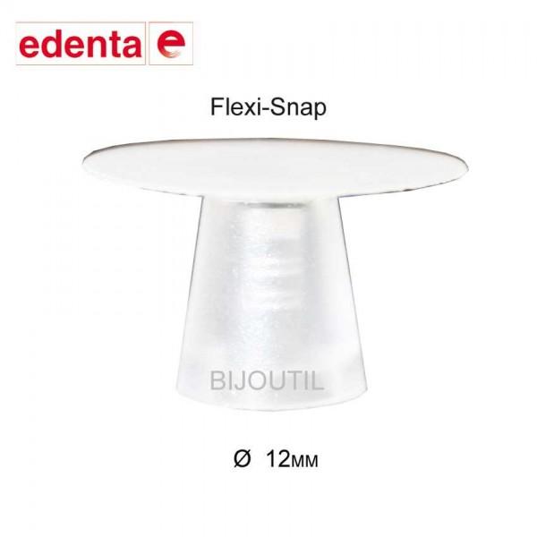 Flexi-Snap, polisher white, 12mm, 50pcs. ultrafine