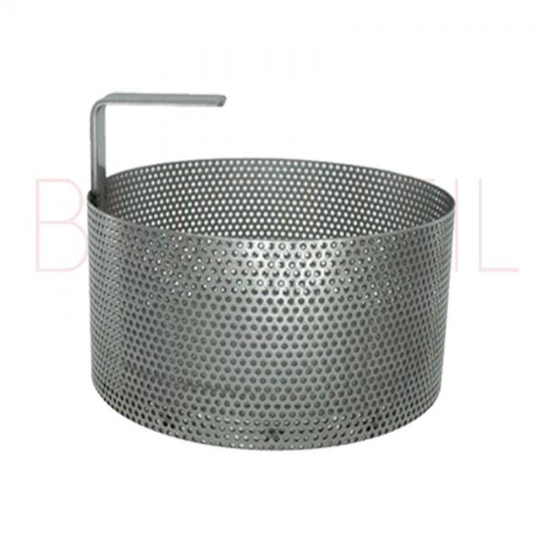 Edelstahl Korb, ∅ 200 x H 110mm zu 23354