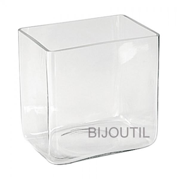 Glass-tank 3 litres 180 x 130 x 182mm, LxBxH