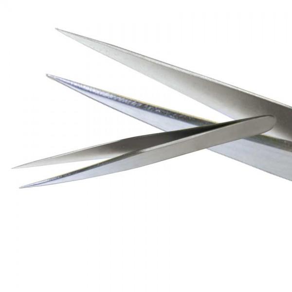Pinzette rostfrei spitz 12 cm