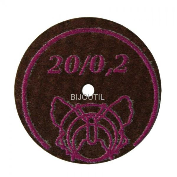 Separating disc Ø 20 x 0.2 mm diamond coated
