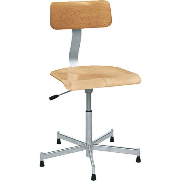 Chair with gas-pressure