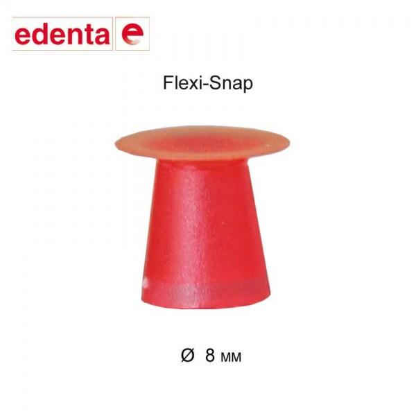 Flexi-Snap, polisher, red, 8mm, 50pcs. fine