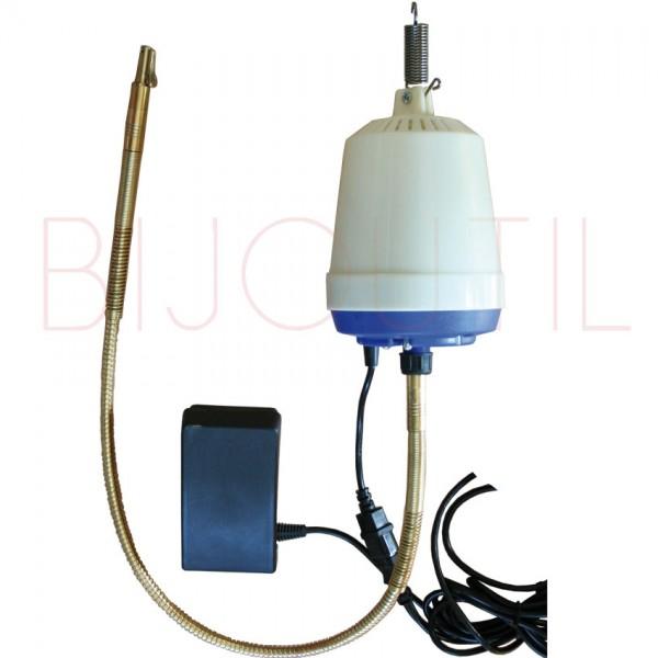 Hängemotor 22`500 U/Min. blau 1000W, inkl. Welle und Pedal 240V/50Hz