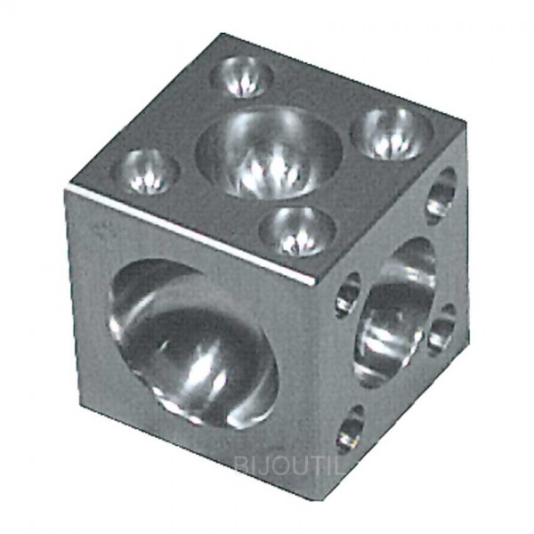 Würfelanke Stahl 60x60x60 mm