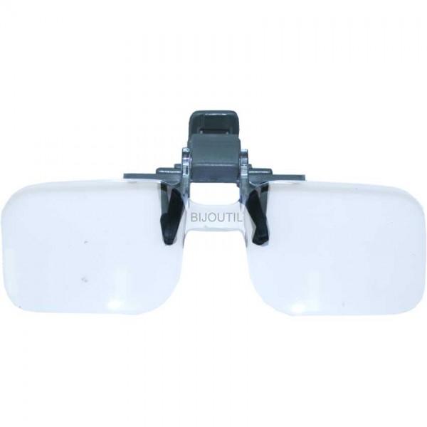 Brillenlupe, klemmbar, 2x