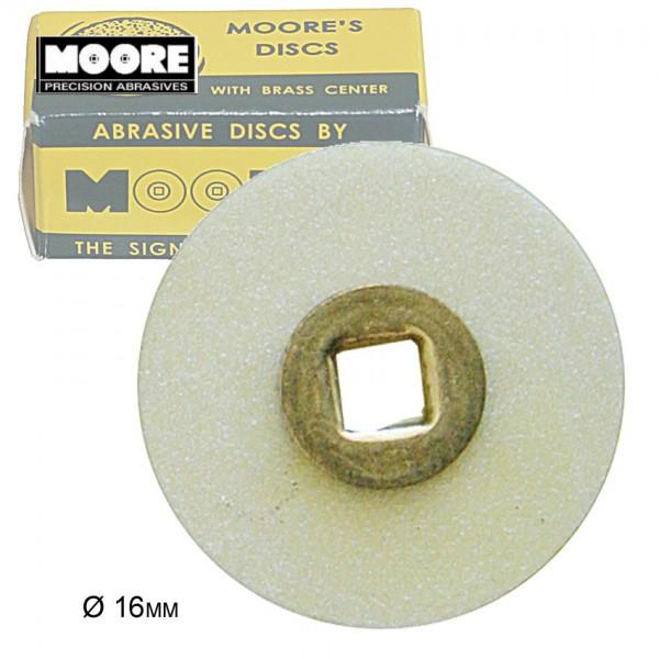 Moore-Flex polishing disc, coarse Ø 16mm, Snap-On