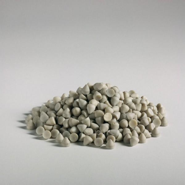 Schleifkörper Kegel Kunststoff KX 10, fein, 2 kg