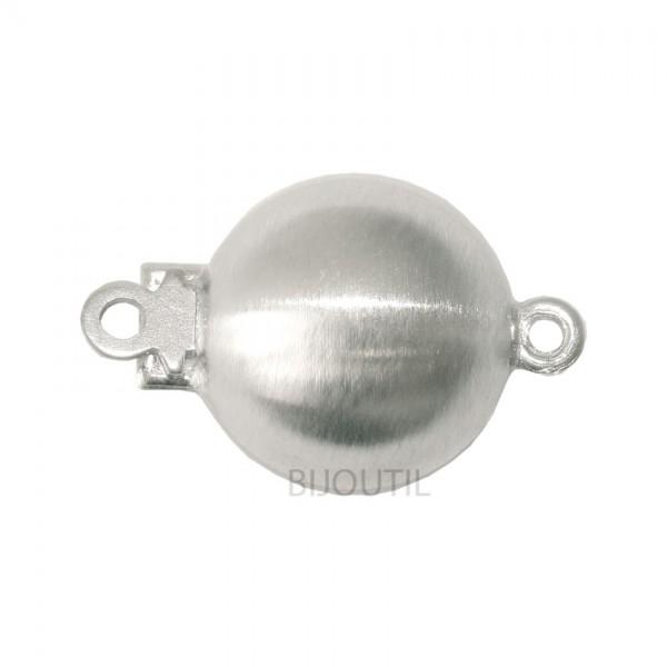 Schlösschen 8 mm Weissgold 750