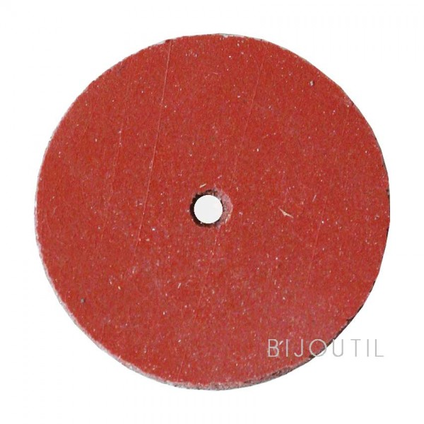 Rubber wheels red 22x3 mm
